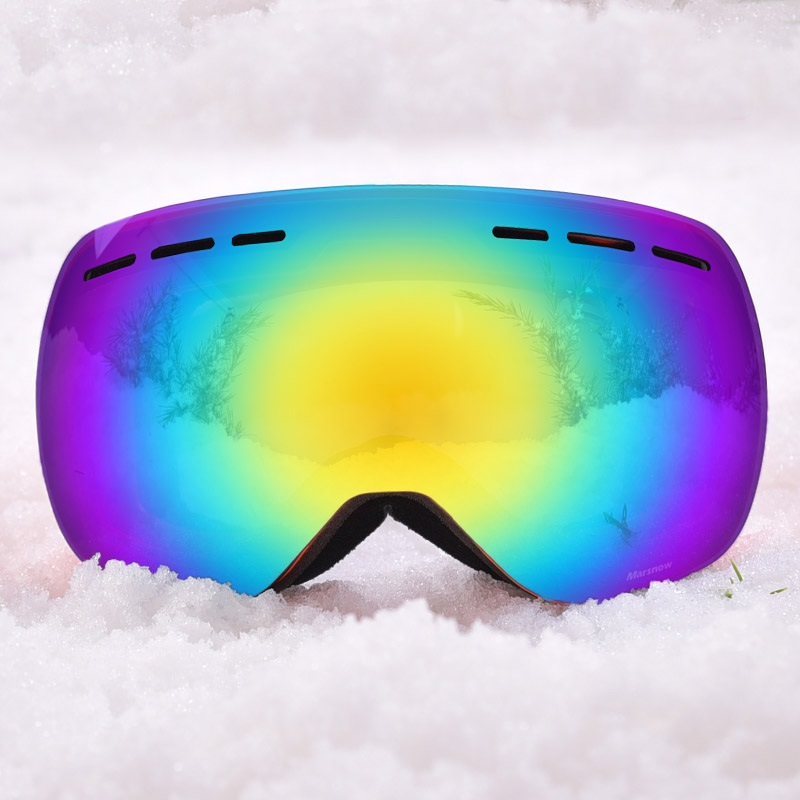 Super COOL Ski Goggles Snowboard Anti-fog Snowmobile Winter Professional Glasses Mask Women Men UV400 Large Spherical Eyewear topeak outdoor sports cycling photochromic sun glasses bicycle sunglasses mtb nxt lenses glasses eyewear goggles 3 colors