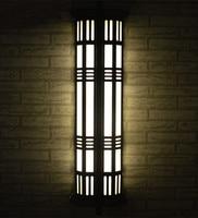 Вертикальный крыльцо лампа, наружное освещение, большой высокий T5/E27 Двор Настенный светильник для наружного освещения Водонепроницаемый о