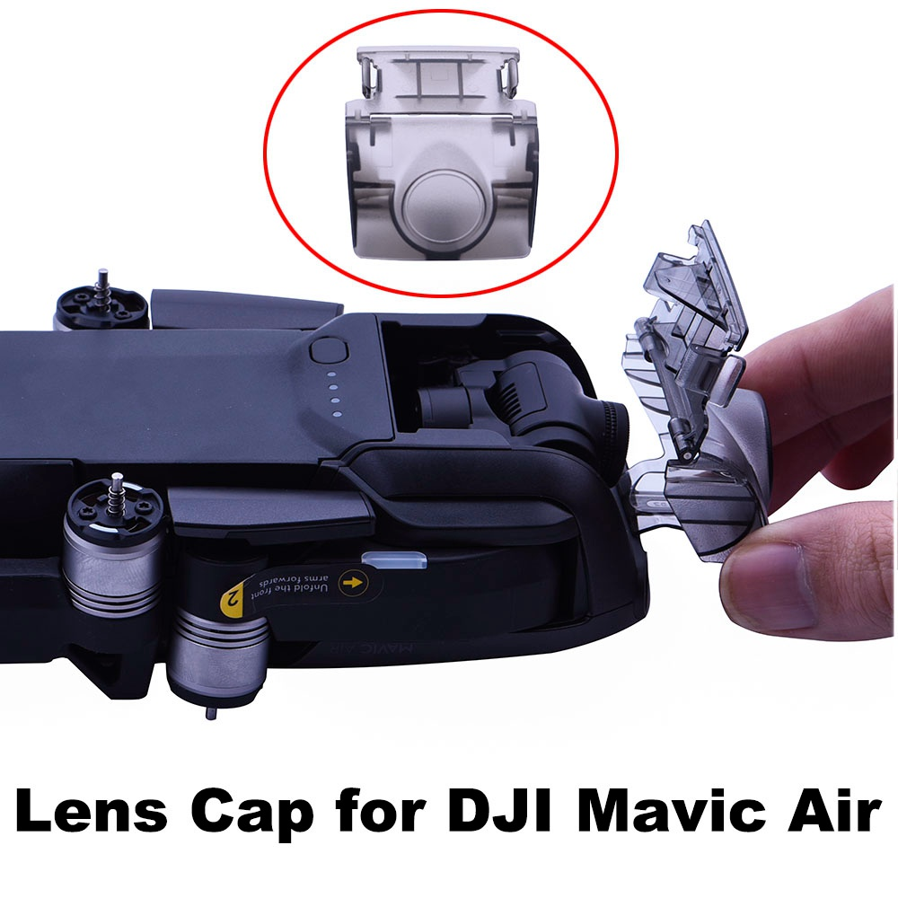 Lens Cover Cap For DJI Mavic Air Drone Camera Lens Protector Filter Guard Stabilizer Protector Snap On Dustproof Cap Spare Parts