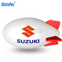 AA014 BENAO עיצוב מותאם אישית משלוח חינם PVC מתנפח בלון אוויר, מעופף בלון מתנפח פרסום הליום ספינת אוויר למכירה
