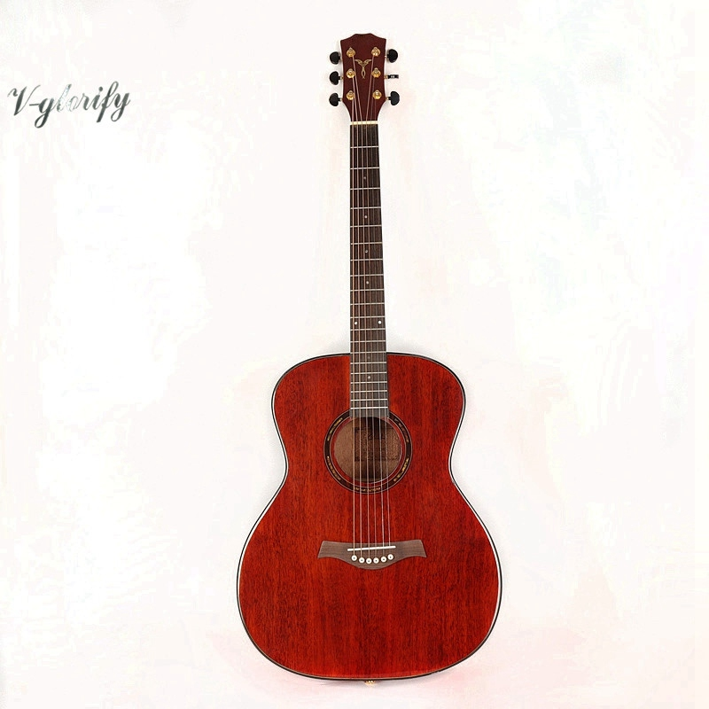 good quality full mahogany 41inch western guitar electric western guitargood quality full mahogany 41inch western guitar electric western guitar