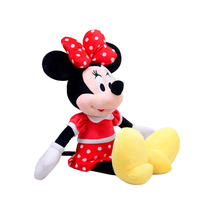 42cm Disney Mickey Mouse Minnie Animal Stuffed Plush Toys Kawaii Doll for Children Kid Girl Birthday Gift Stuffed Toys Original in Movies TV from Toys Hobbies
