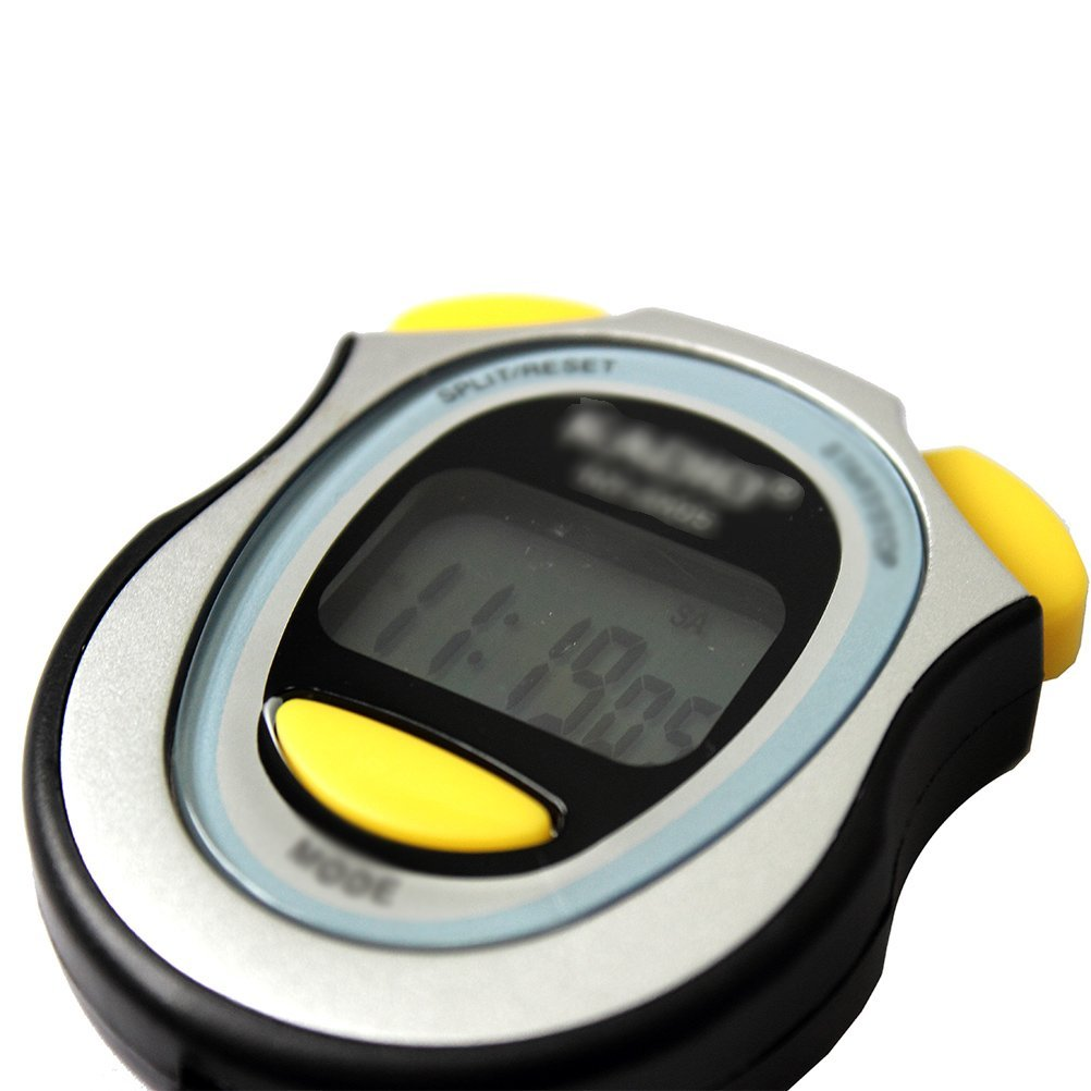 YCYS-Digital Running Timer Chronograph Stopwatch Counter with Strap Pop