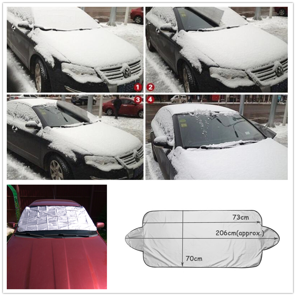 2018 new car Snow Ice Sun Shade Dust Cover for VW Volkswagen Golf 7 5 6  Passat B5 B6 B7 Polo CC Tiguan Jetta