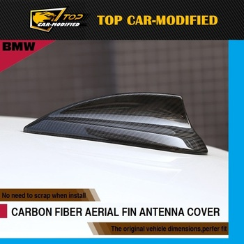 Free shipping Carbon fiber roof gps antenna cover,Real Carbon fiber Shark Fin Antenna for BMW 7 series (14up)