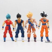 SHFiguarts Dragon Ball Z SHF Vegetto Resurrection F Son Gokou Goku SH Figuarts DBZ PVC Action Figure Collectible Model Toy 16cm