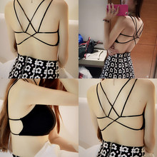 2559653306c Fashion Lace Bralette Top Modal Brandy Melville Women Short Blouse Vest  Sexy Cop Tops Tanks For Summer Black White
