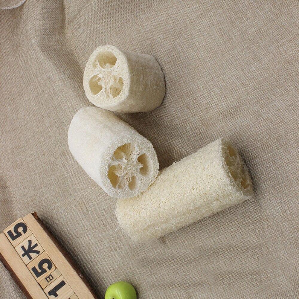 Natural Healthy Loofah Bath Shower Wash Body Pot Bowl Sponge Scrubber Spa Bathroom Accessories Bath Body Shower Sponge Scrubber(China)