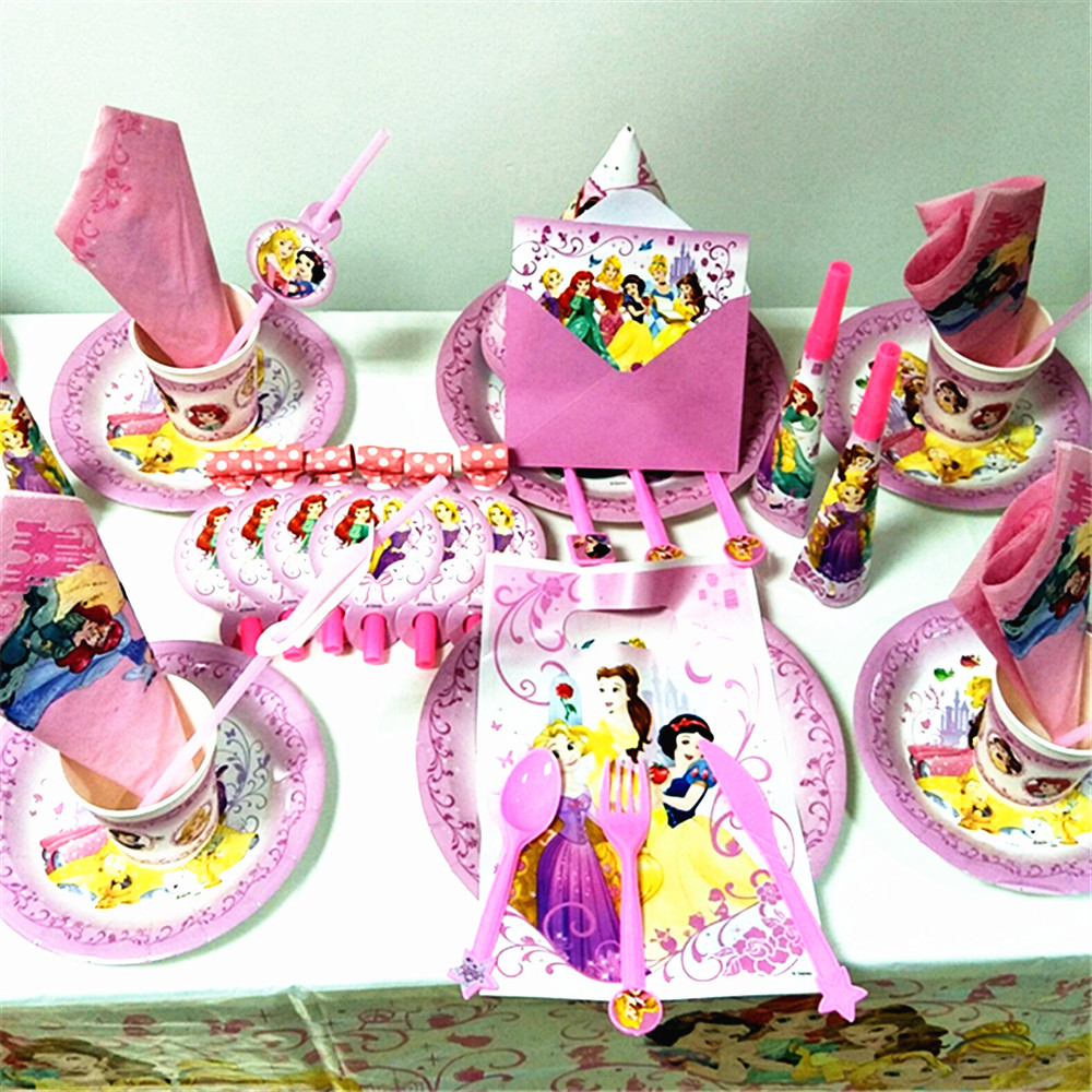 Disney Princess Snow White Birthday Party Pack Sleeping Beauty ...