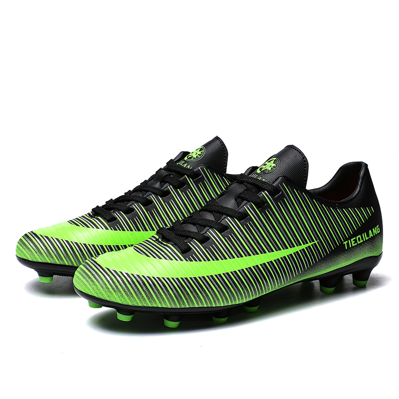 98142014272b7 2018 New Style Designer Men FG Football Shoes Soccer Cleats Soccer Boots  men Training Football Boots 37 44 Chaussure De Foot-in Soccer Shoes from  Sports ...