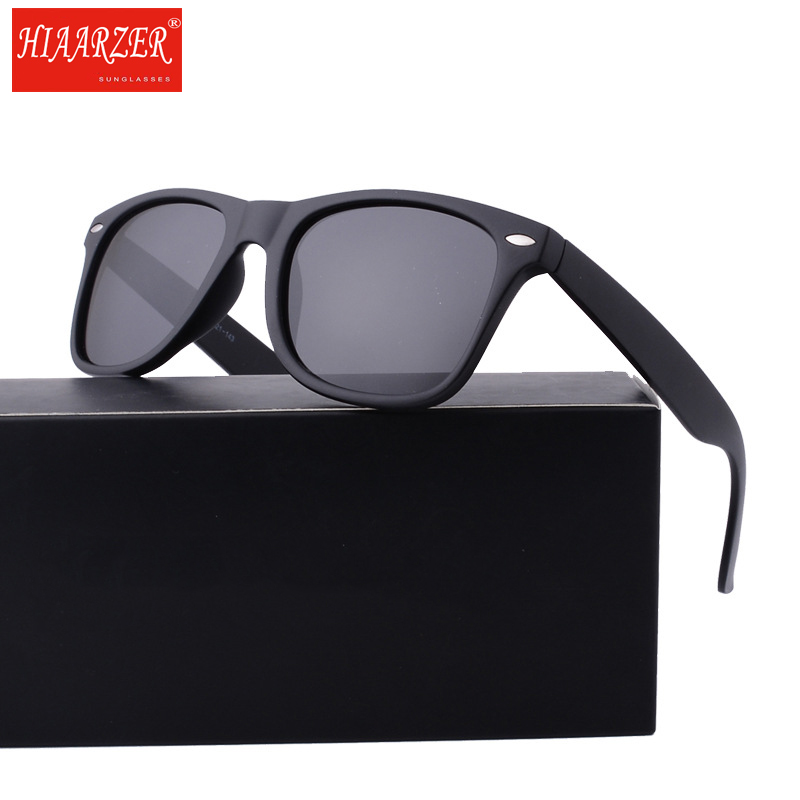 Men's Women Polarized Sunglasses Driving Mirrors Coating Points Black Frame Sun Glasses UV400 Eyewear Male Sun Glasses With Box