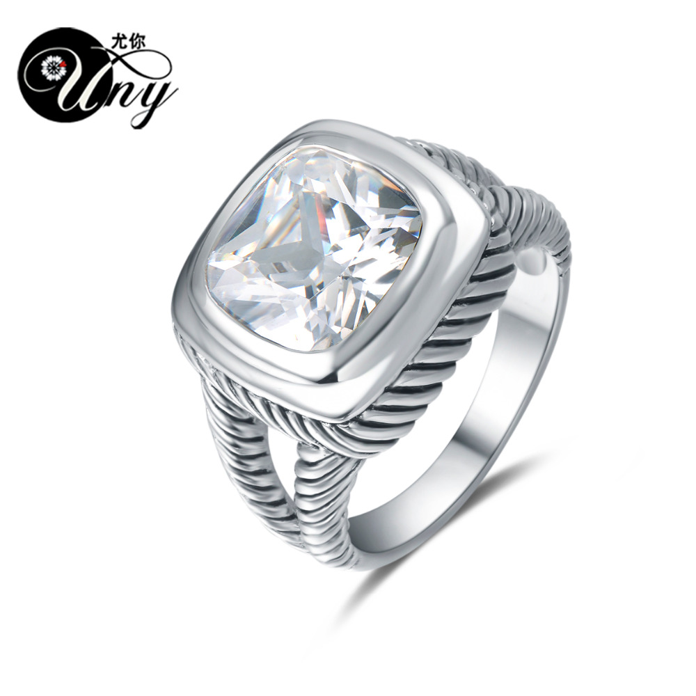 UNY Ring Fashion Birthstone femininity Rings 925 Sterling Silver Customized Engrave Rings Christmas Mothers Day DesignGift RingUNY Ring Fashion Birthstone femininity Rings 925 Sterling Silver Customized Engrave Rings Christmas Mothers Day DesignGift Ring
