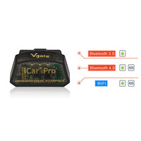 Vgate ICar Pro WIFI OBD OBDII Car Engine Diagnostic Code Scanner For Andriod IOS Bluetooth Version 27th