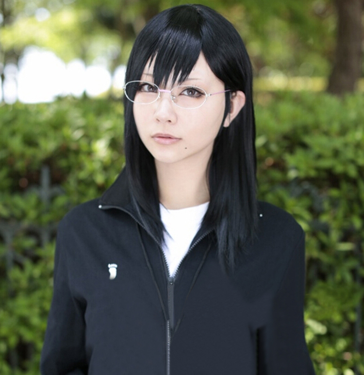 US $13 99 |Haikyuu!! Volleyball Kiyoko Shimizu 45cm Long Black Heat  Resistant Cosplay Costume Wig-in Anime Costumes from Novelty & Special Use  on