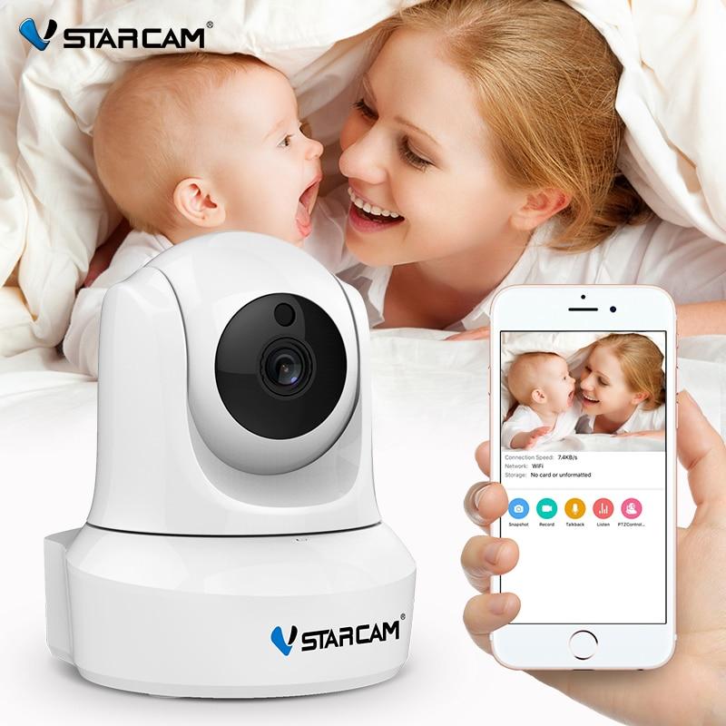 VStarcam 720 P de la cámara de seguridad IP Wifi de la visión nocturna IR de la grabación de Audio de vigilancia inalámbrica interior Web HD Cámara monitor de bebé
