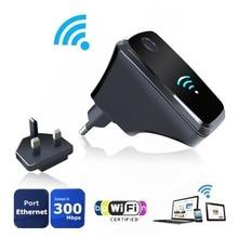 ЕС Великобритания Plug Wi-Fi роутера Беспроводной повторителя расширение полосы пропускания Усилитель 2.4 ГГц сигнала сети получить полный