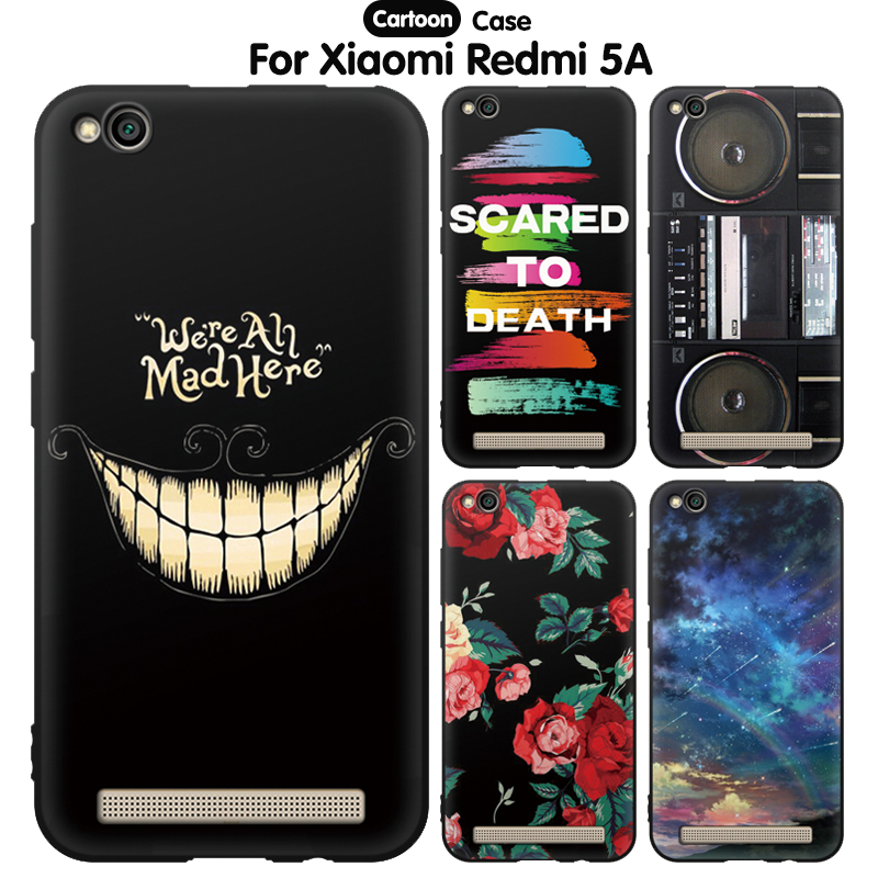 US $1 18 9% OFF|EiiMoo Phone Case For Xiaomi Redmi 5A Case Cartoon Printi  Soft Silicone Back Cover For Xiaomi Redmi 5A Case Xiomi Redmi 5 A 5 0