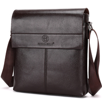 New Collection 2015 Fashion Men Bags Men Casual Leather Messenger Bag High Quality Man Brand Business