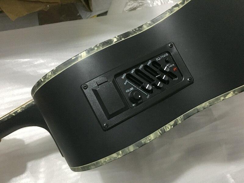 Stock 40 pouces acoustique électrique guitare