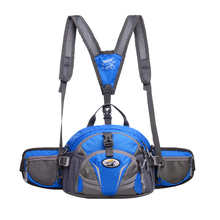 TANLUHU 337 Nylon Sports Bag Outdoor Climbing Hiking Backpack Unisex Waist Pack Kettle Handbag Running