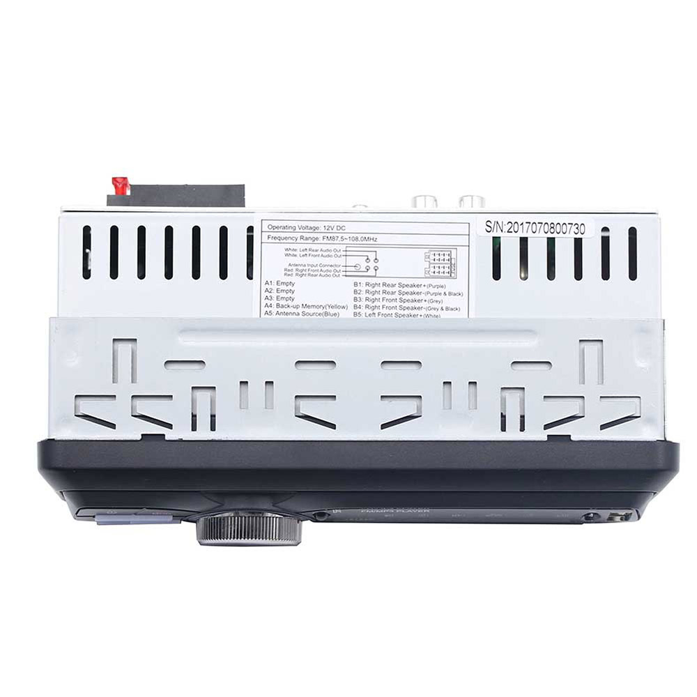 1Din voiture Audio 1010RDS lecteur MP3 voiture Audio Bluetooth stéréo RDS/FM/AUX/ISO entrée Subwoof son lecture Auto autoradio - 3
