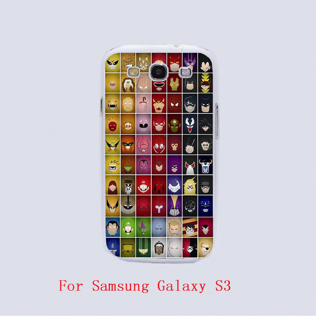 Iron Man Marvel the Avengers Superheroes  phone Cases For Samsung Galaxy s3 s4 s5 s6 edge