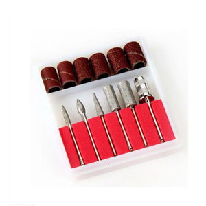 1set Nail Art Drill Bits and S
