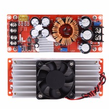 1500 วัตต์ DC DC Step   up Boost Converter 10 60 โวลต์ถึง 12 90 โวลต์ 30A คงที่โมดูลแหล่งจ่ายไฟ LED ไดร์เวอร์ตัวแปลงแรงดันไฟฟ้า