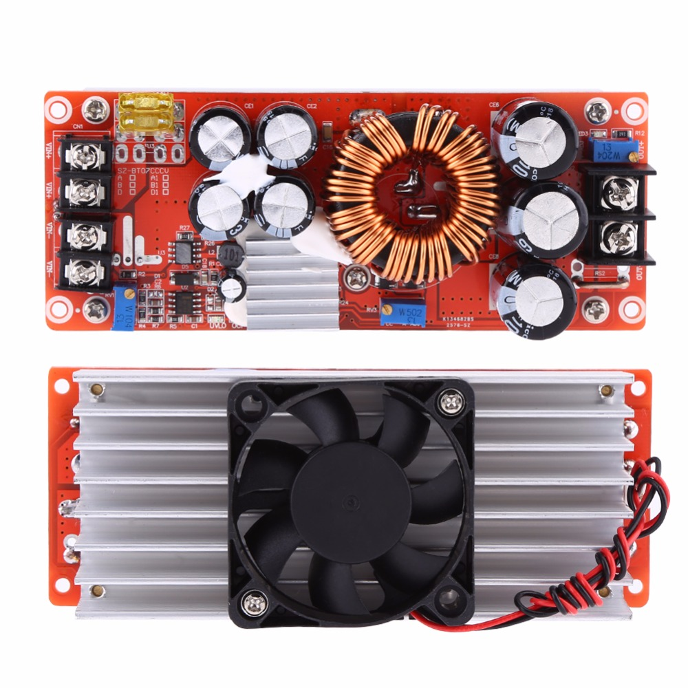1500 watt DC-DC Step-up-Boost-Converter 10-60 v zu 12-90 v 30A Konstante Strom power Supply Module Led-treiber Spannung Power Converter