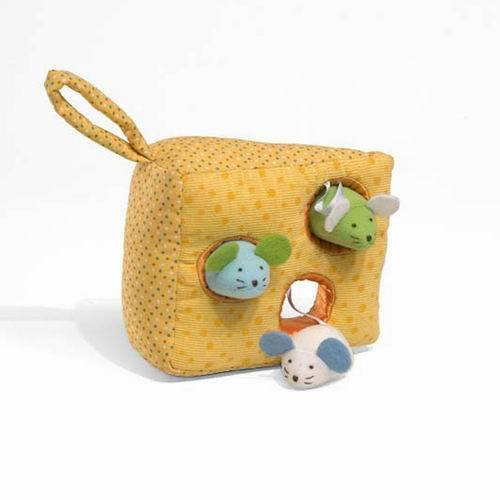 Baby  toys puzzle 0-12months cheese rattles,baby  bed hanging toy