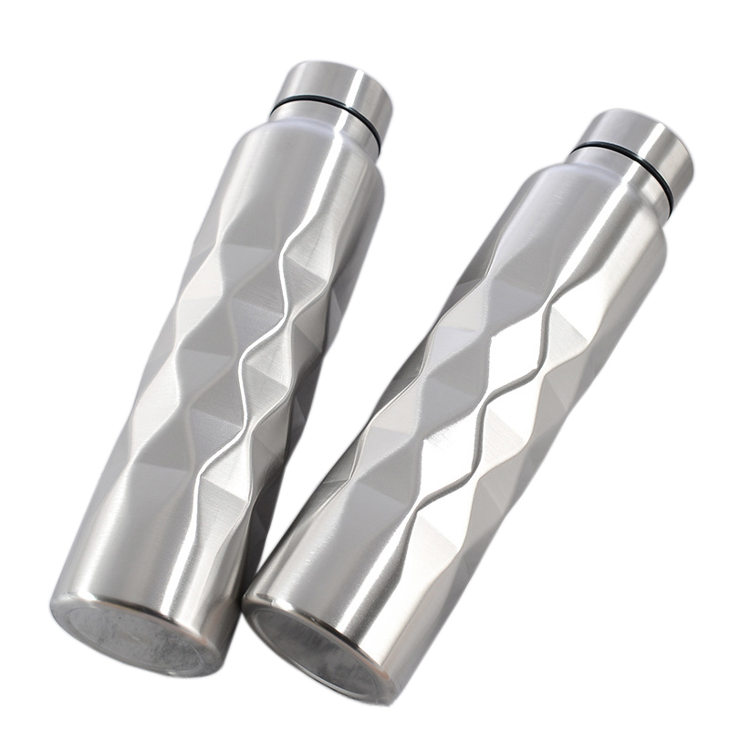 1000ml Single-wall Stainless Steel Water Bottle (NOT Thermos) Gym Sport Bottles Portable BPA Free Cola Beer Drink Bottle