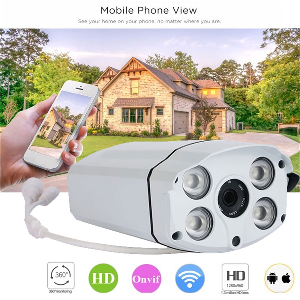 Giantree 1.3MP HD 960P Surveillance Camera Infrared IR Motion Detection Security Cam Night Vision WIFI IP CCTV Camcorder howell wireless security hd 960p wifi ip camera p2p pan tilt motion detection video baby monitor 2 way audio and ir night vision
