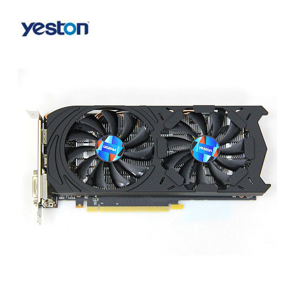 Yeston GTX1060-6G D5 GDDR5 192Bit Gaming Graphics card Double Fan Custom Metal Backplane GAEA Series Graphics Card for desktop цена