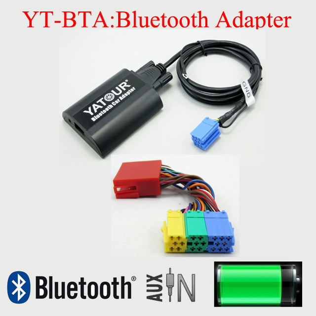 yatour bluetooth mp3 phone hands free adapter for audi a2. Black Bedroom Furniture Sets. Home Design Ideas