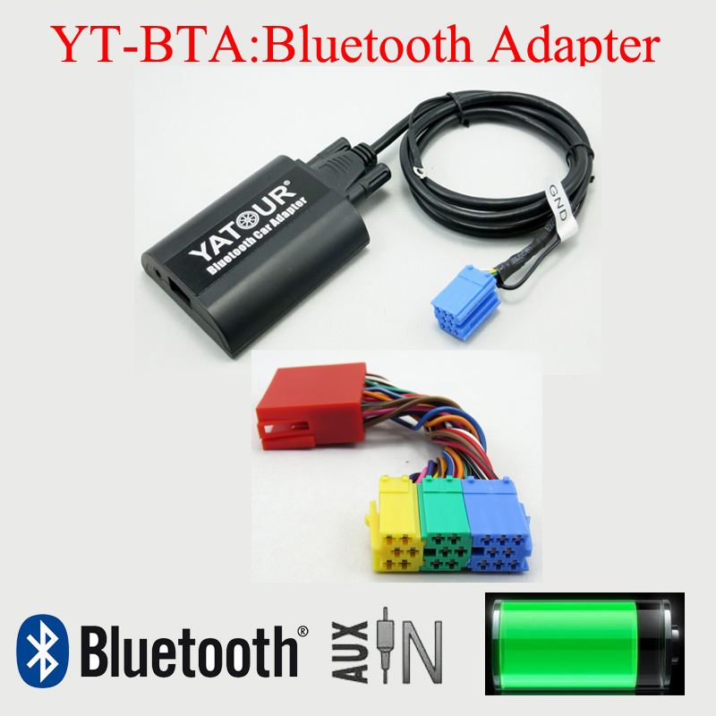 Yatour Bluetooth MP3 Phone hands free adapter for Audi A2 A3 A4 SA A6 S6 A8 S8 Allroad TT