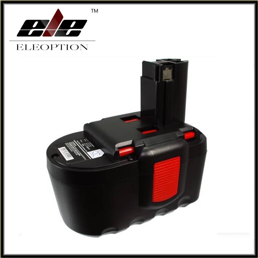 Eleoption power tool battery for Bosch 24VA 3000mAh,2607335268,2607335279,2607335280,BAT030,BAT031,BAT240,BAT299,BH-2424,BTP1005 нагреватель воздуха газовый quattro elementi qe 10g 911 536