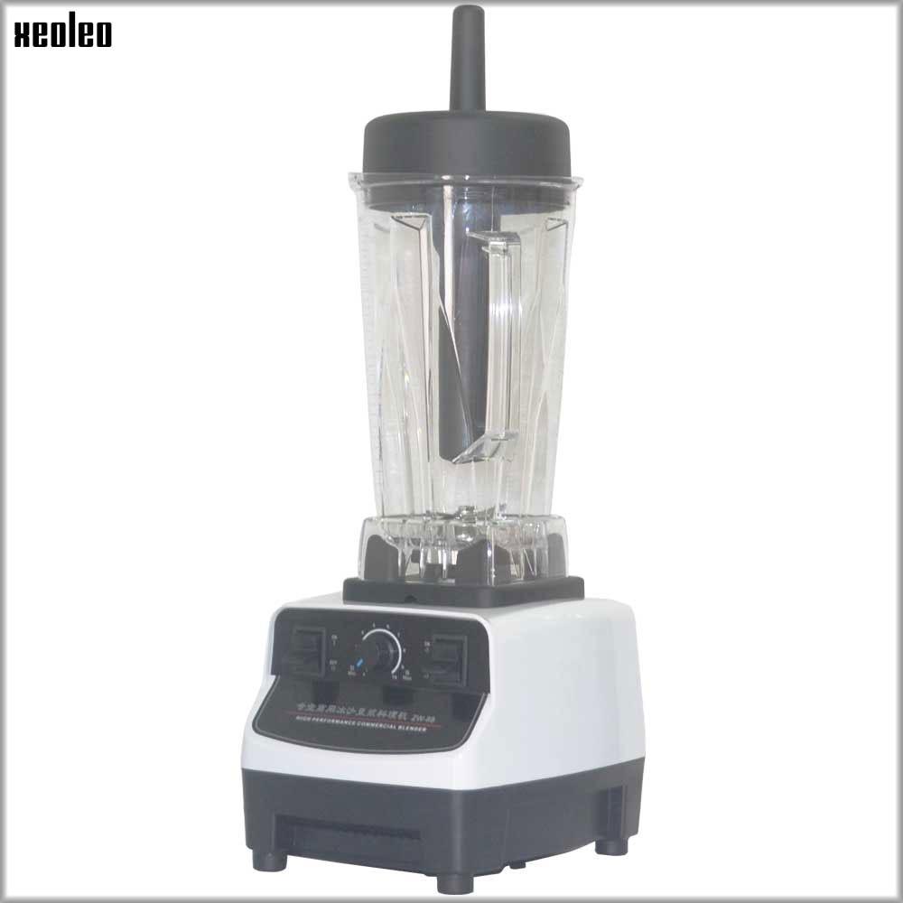 XEOLEO 220/110V Comemrcial Blender 1200W Heavy duty Blend mixer Food blender Food processor Juice blender smoothie maker 2L цена 2017