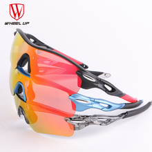 WHEEL UP HD Polarized Cycling Glasses Coating Outdoor Sports Goggles Waterproof UV400 3 Colors Riding Driving Bicycle Eyewear