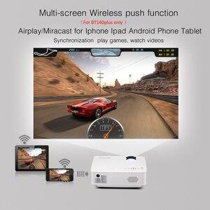 Image 5 - BYINTEK gökyüzü BT140 Mini LED taşınabilir Video HD projektör ev sineması için