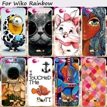 Mobile Phone Bags and Cases For Wiko rainbow Explay Fresh 5.0 inch Cases Anti-Knock Hard Plastic Fashion Smartphone Shells Hoods