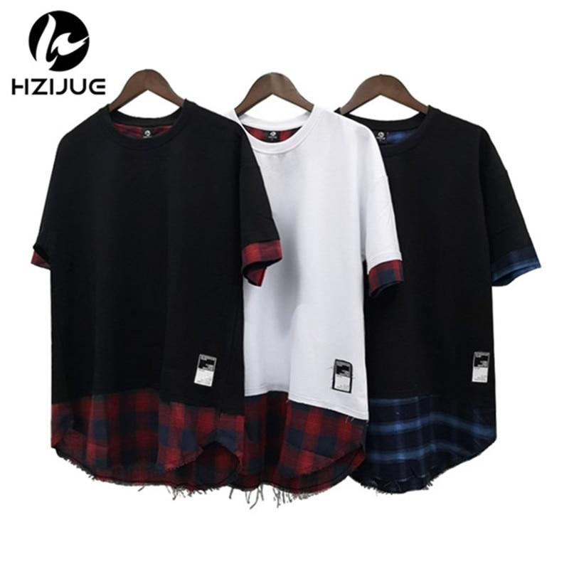 HZIJUE 2018 New Men's Knaye   T     Shirt   Justin Bieber Fashion Hip Hop Brand Short Sleeve High Street Tops Tees Homme Male   T     Shirt