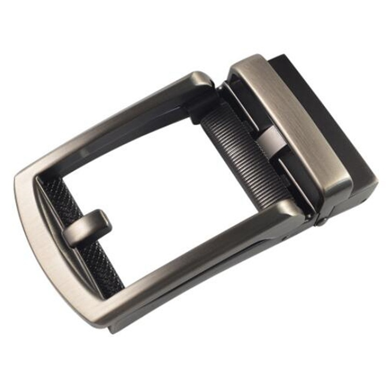 1PC Men Zinc Alloy Replacement Automatic Slide Leather Belt Buckle DIY Fittings QLY9686
