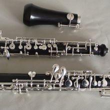 Отличный твердый эбеновый деревянный полный автоматический наряд oboe C key