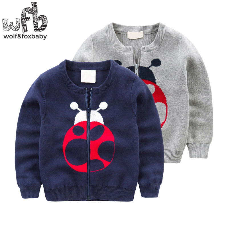 Retail-2-8years-knitted-sweaters-Cardigan-Beetle-Elephant-solid-color-baby-kids-children-Clothes-spring-autumn-fall-1