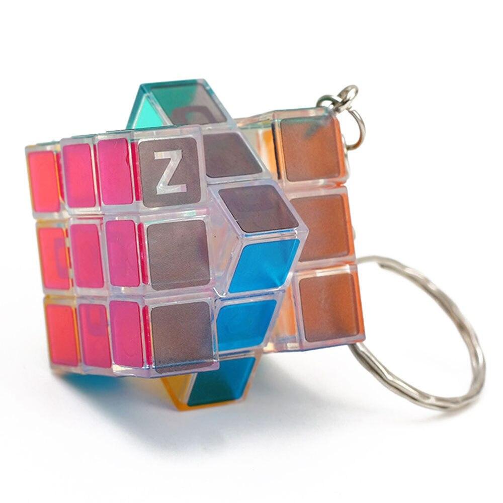 Волшебный куб Zcube скоростной куб брелок зеленый светильник светящийся строительный блок декомпрессионная игрушка высокого давления Мини образовательный