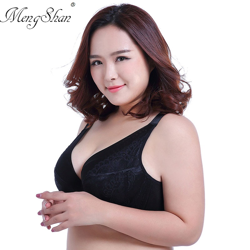 57c62c197e Detail Feedback Questions about Ladies Big Size Larg Super thin and large  code bra A big cup of fat MM300 Jin Gather the adjustable lace Spongy lady s  ...