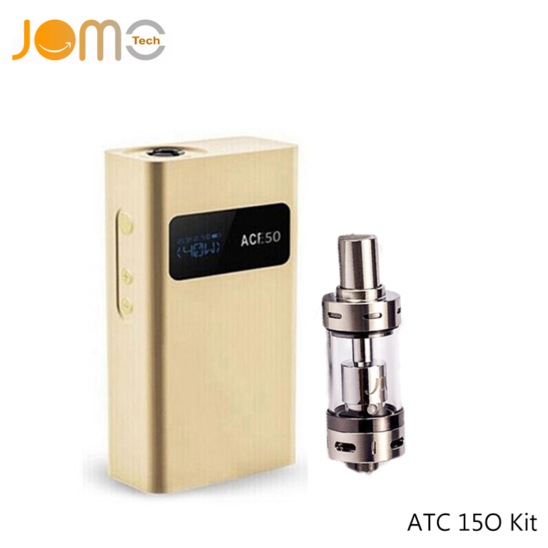 Original JomoTech ATC 150w Box Mod OLCD Screen Huge Vaporizer 150 Watts Mechanical Mod VW Electronic Cigarette Mods Jomo-22 jtc 150w tc box mod olcd temperature control vaporizer vv vw 7 150w vape mod electronic cigarette mod for sub ohm tank jomo 102