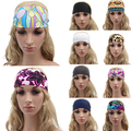 Women Boho Style Festival Feather Headbands Hippie Weave Hairband Female Hair Accessory