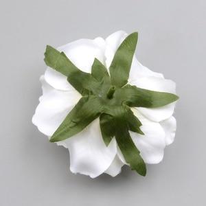Image 2 - 30PCS Artificial Silk Flowers Heads For Wedding Decoration White Rose DIY Wreath Gift Box Scrapbooking Craft Fake Flower Head