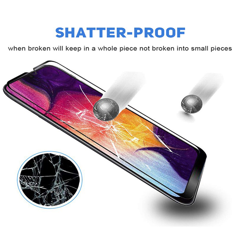Image 2 - 3D Tempered Glass For Samsung Galaxy A50 A40 A30 a70 a20 a20E a10 Screen Protector on Sumsung Galax A 50 40 30 Protective glas-in Phone Screen Protectors from Cellphones & Telecommunications